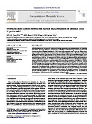 strength of adhesives in a lap joint essay Single-lap composite joint and to use the model to analyze and predict the joint strength the earlier studies on adhesive-bonded joints can be found from the review papers by kutscha [1], kutscha and hofer [2], matthews et al [3], and vinson [4.